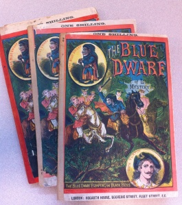 The Blue Dwarf, in three volumes