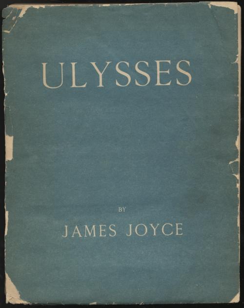Ulysses. Paris, 1922.