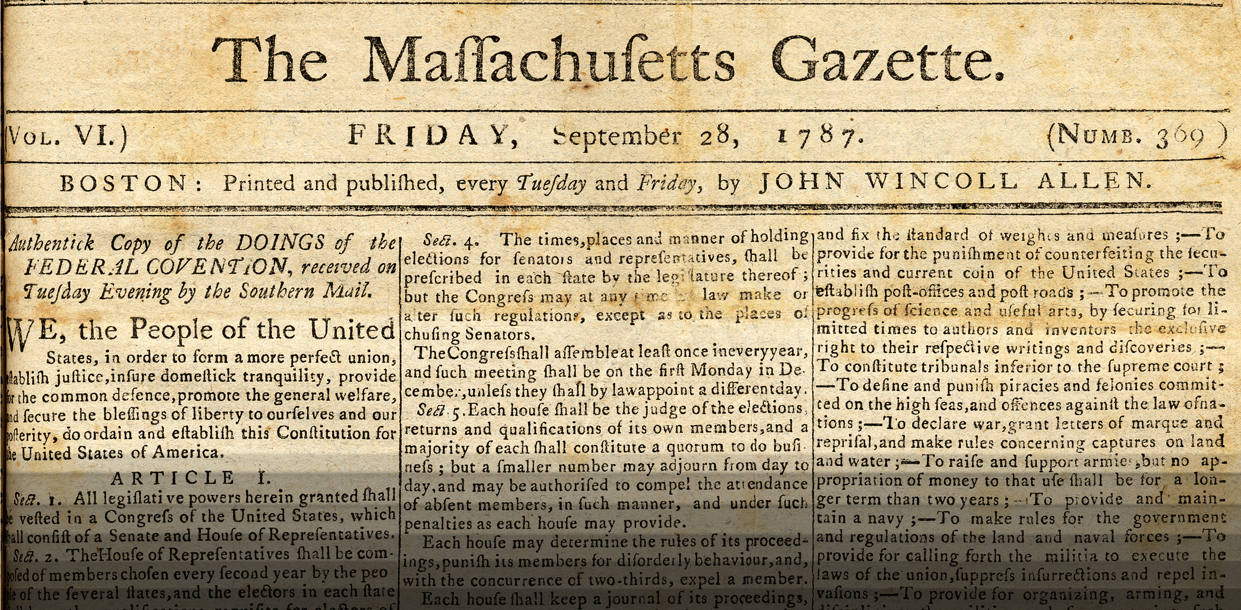 constitution paper In october of that year, the publication was renamed the atlanta constitution  styles sold his interest in the paper later that year to partners william a hemphill .