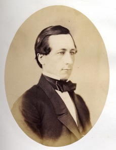 From an 1859 album, when he was Professor of Chemistry