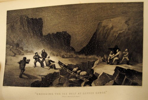"""""""Crossing the ice belt at Coffee Gorge"""""""