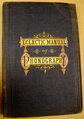Among The Other Intriguing Finds Is This Manual Of Phonography