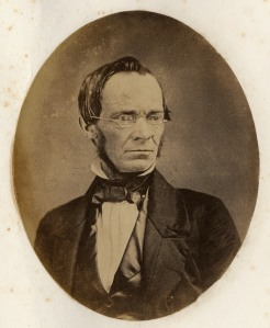 Professor William S. Tyler, whose absence from class led to the founding of the Philopogonia Society