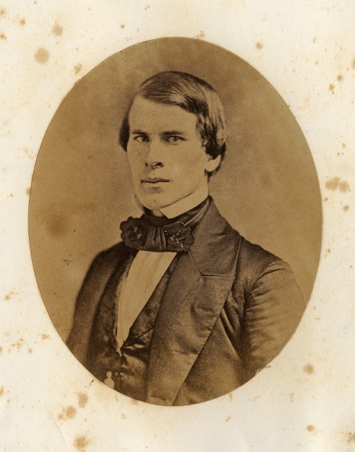 Henry Reuben PIerce.  His crystalotype for the albums of the Class of 1853.