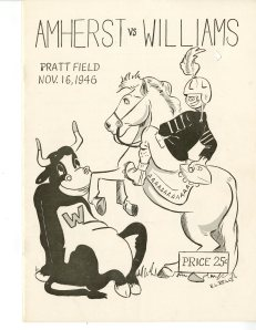 Amherst vs. Williams 1946