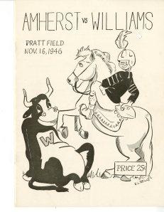 Amherst vs. Williams 1946