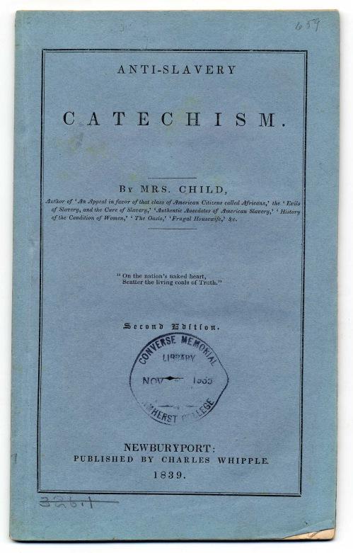 Anti-Slavery Catechism 1839