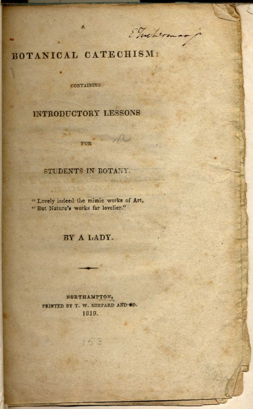 Botanical Catechism 1819