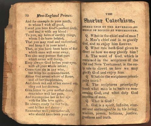 New England Primer 1822