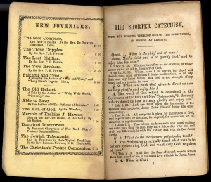 Talcott Williams' catechism
