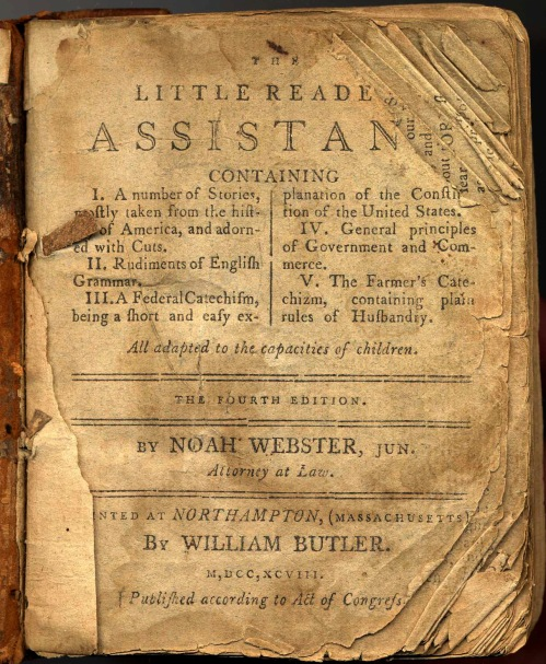 Little Reader's Assistant 1798