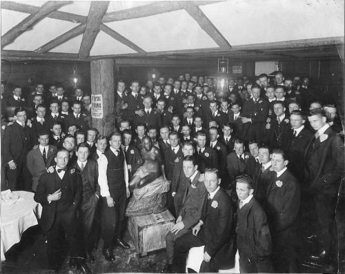 A class banquet in 1912