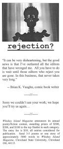 Wolf's collection includes dozens of rejection letters. Such documents loom large in every writer's life.