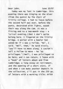 John letter p.1