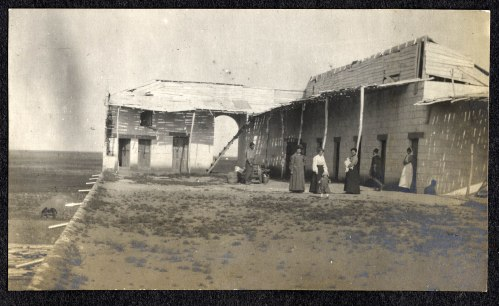 Near Orfu.  From an album in the Charlotte Allen Ward Papers at Mt. Holyoke College.