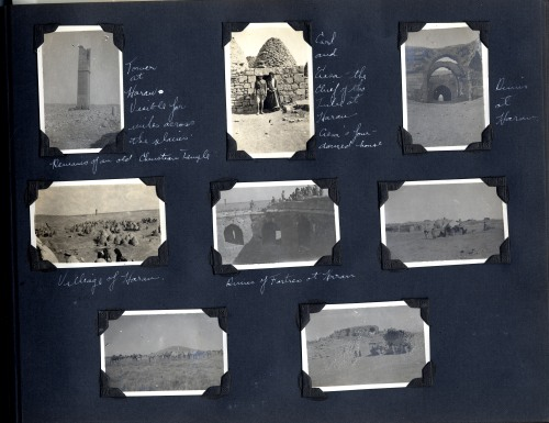 Page from Charles Weeden's album.