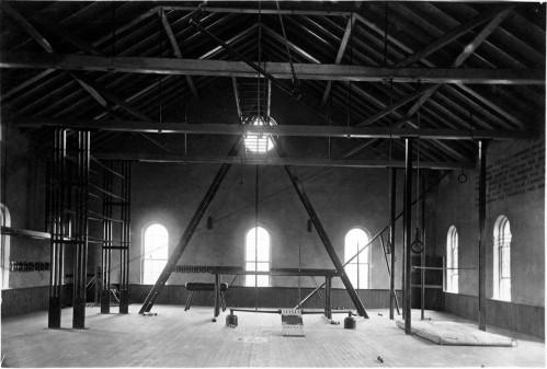 Barrett Gymnasium, ca. 1878