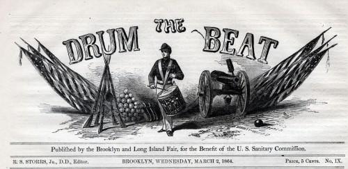 Drum Beat masthead