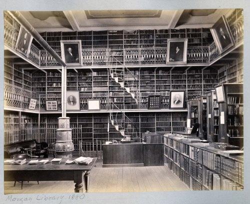 Morgan Library, ca. 1880