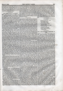 The Round Table. 12 March 1864. page 195.