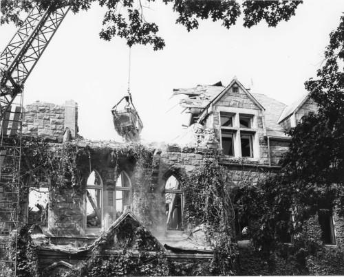 Walker Hall demolition
