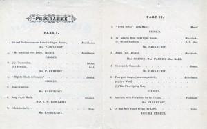 1873 Parkhurst concert program 2