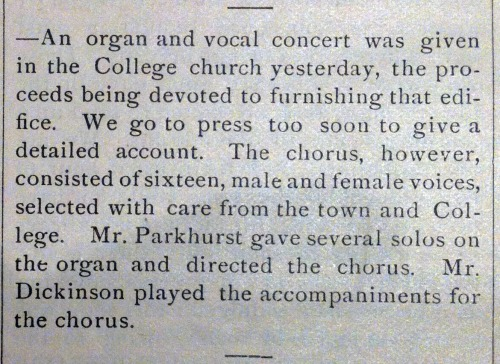 The Amherst Student. June 28, 1873. Page 94.