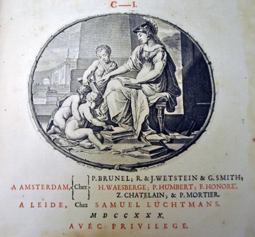 dictionaire historique 1730