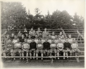 Howdy Groskloss in an undated football team photo