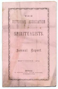 victorian spiritualists