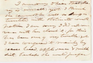 Image of Hitchcock's letter to his son