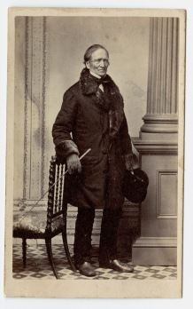 Full-length portrait of Edward Hitchcock