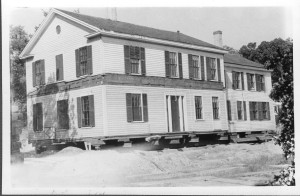 Boyden house being moved