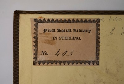 First Social Library in Sterling