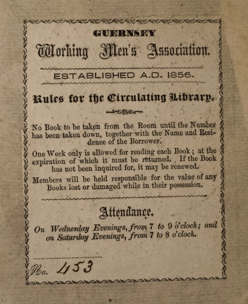 Guernsey Working Men's Association