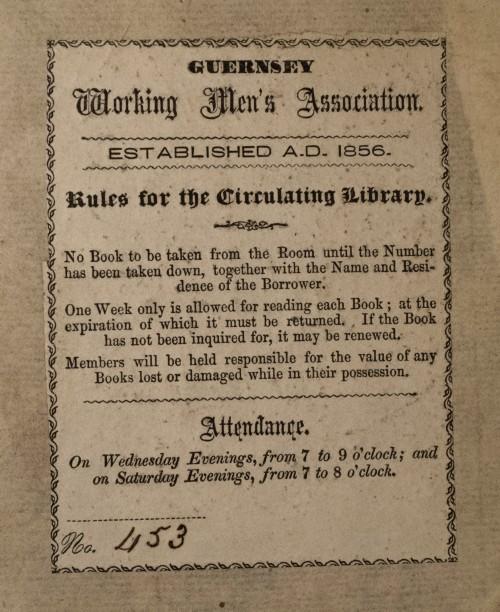 Guernsey Working Men's Association