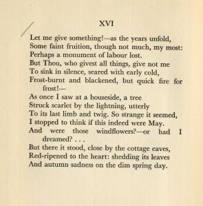 Frederick Goddard Tuckerman, Sonnet V: XVI