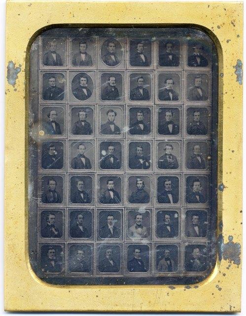 Class of 1852 -- a daguerreotype of daguerreotypes