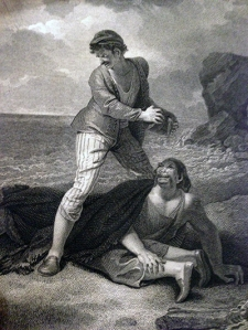Caliban. Boydell, 1802.