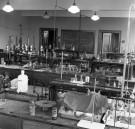 Chemistry lab, August 1966. (image 66-014-7 neg 5)