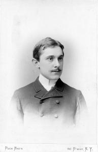 Clyde Fitch. ca. 1886.