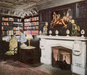 The Fitch Room, as it was in 1950.