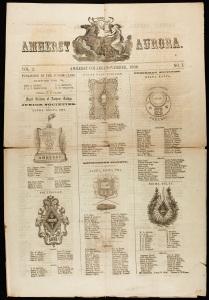 Amherst Aurora (November 1856)