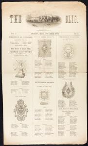 The Olio (November 1857)