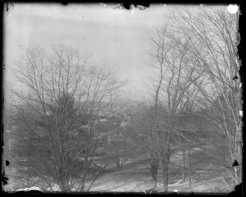 View from 30 South College, December 1896