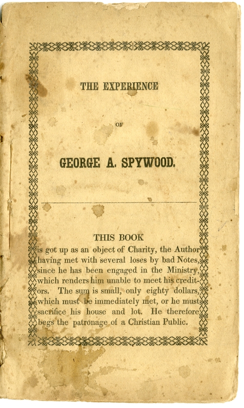 The Experience of George A. Spywood.