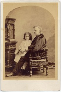 Henry Ward Beecher & Violet Beach, ca. 1875