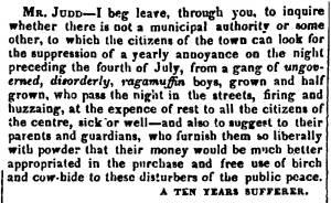 """Hampshire Gazette,"" July 7, 1830"