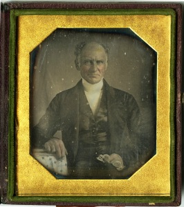 Rev. Thomas Snell, father of Ebenezer, ca. 1845