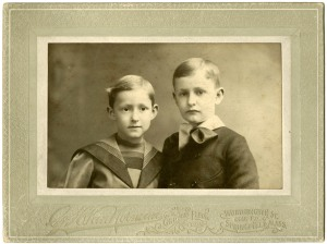 Sherman and Samuel Bowles, ca. 1896-7.
